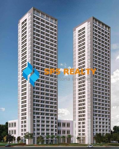 Imagem 1 de 19 de Sala Comercial Com 40 M² - Oportunidade - 5.100,00m² - Sp - Ecosmart0004_spreal