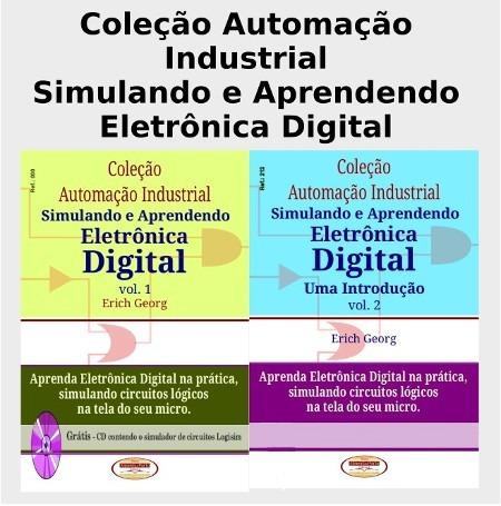 Livros Aprendendo Eletr. Dig.brinde.v.1e2.col.completa.