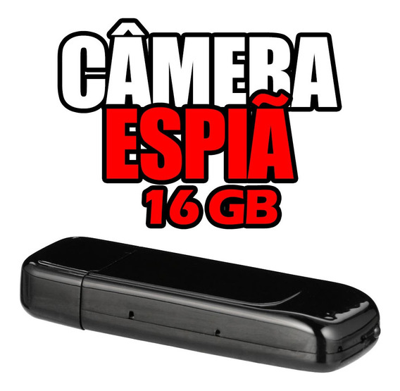 Camera De Seguranca Barata Pequeno Espiao Filmadora 16gb