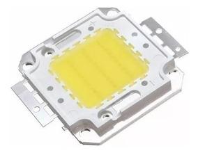 6 Chips Led 30w Reposição Refletor Branco Frio