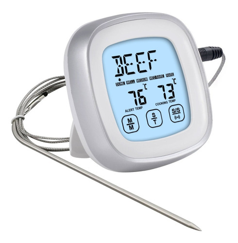Termometros De Cocina Pantalla Táctil Impermeable P Barbacoa