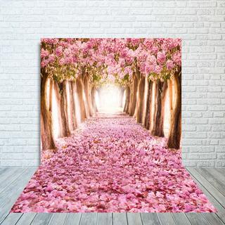 Fundo Fotográfico Cenário Jardim Encantado 2,20x1,40m - 001