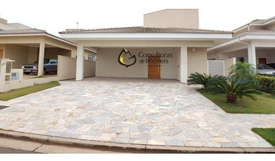Casa Com 3 Dormitórios Para Alugar, 222 M² Por R$ 4.300,00/mês - Condomínio Terras Do Cancioneiro - Paulínia/sp - Ca1108