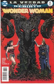 Comic Dc Universe Rebirth Wonder Woman # 12 La Verdad