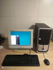 Computador Pc Pentium 4 2.40ghz, 2gb, Wi-fi, 120gb + Monitor