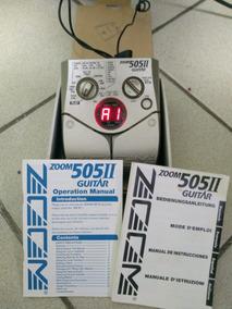 Pedaleira Zoom 505 Ii Com Manual E Caixa Original