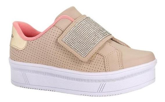 Tenis Pink Cats V0426 Flatform Infantil