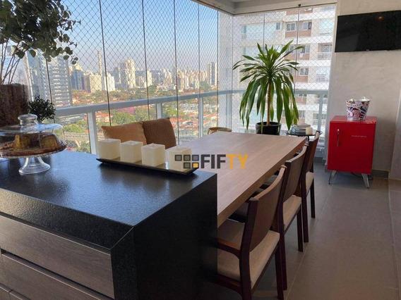 Apartamento Com 4 Dormitórios À Venda, 225 M² Por R$ 3.350.000,00 - Brooklin - São Paulo/sp - Ap15523