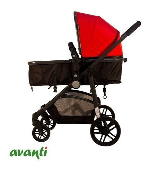 Coche Travel System Avanti One World Red