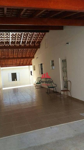 Imagem 1 de 7 de Casa À Venda, 200 M² Por R$ 460.000 - Parque João De Vasconcelos - Sumaré/sp - Ca1970