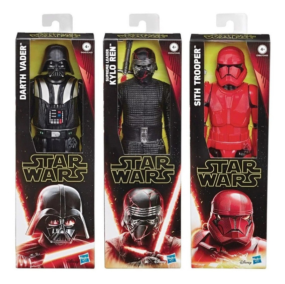 Star Wars Figura 30cm E3405 Darth Vader Kylo Ren Sith Edu