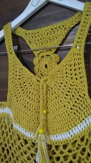 Musculosa Tejida A Crochet