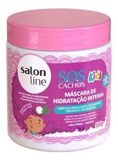 Salon Line Sos Cachos Kids Máscara 500g