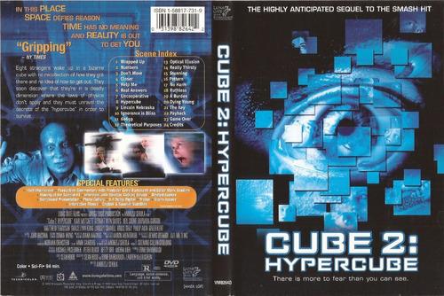 Cube 2 Hypercube Dvd Andrzej Sekula Kari Matchett Terror | Mercado Libre