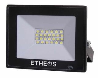 Reflector Led Multiled Flat 10w Luz Fría 900 Lumens | Etheos Pro10fe