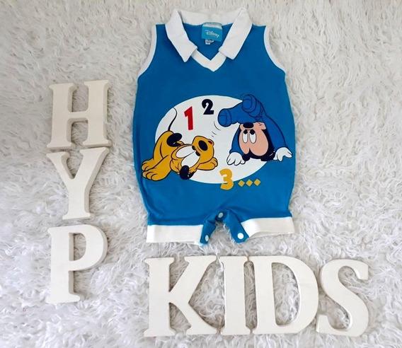 Macacão Disney Infantil - Tamanho 6 Meses