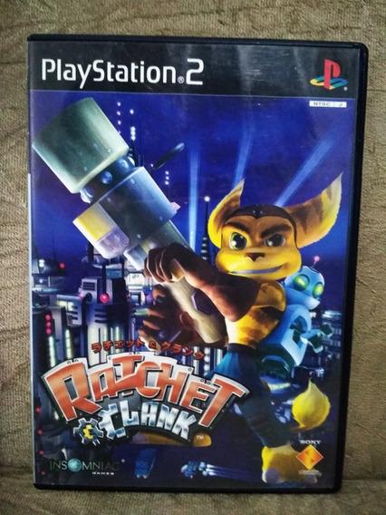Ratchet Clank Ps2 Original Japonês Completo, Frete Cr 12