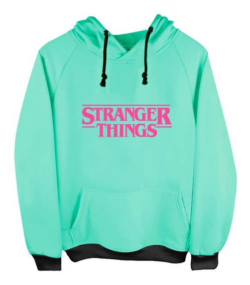 Sudadera Con Gorro Stranger Things Eleven Moda Adulto