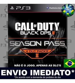 Season Pass Dlcs Call Of Duty Black Ops 2 Ps3 Psn Português