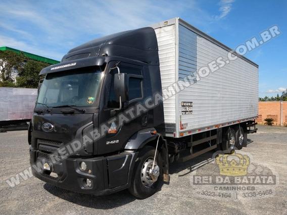 Ford Cargo 2422 Completo Ar Condicionado Único Dono Chassi