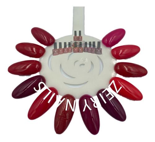 Imagen 1 de 3 de Gel Miss Cherry Gama A Semipermanente 12 Colores 10ml