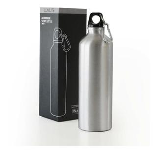 Botella Sublimable Aluminio 750ml Aprobada Inal C/mosquetón