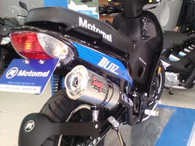 Blitz 110 Tunning Motomel = Zb Crypton Smash Biz Full 125
