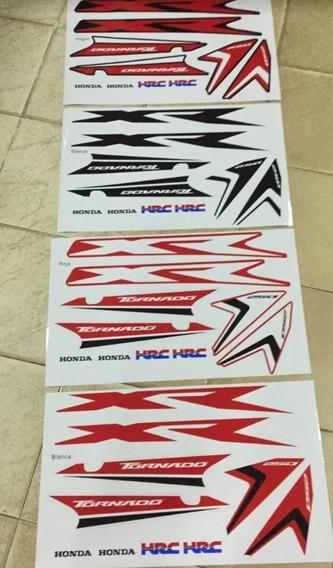 Kit Gráficas Honda Tornado Xr 250