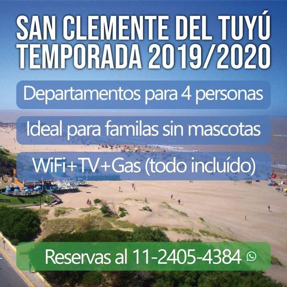 Departamentos En Alquiler En San Clemente Del Tuyú