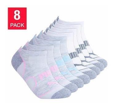 Calcetas Puma Para Mujer 8 Pares - Envio Incluido