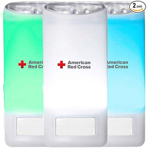 Eton American Red Cross Blackout Buddy Color Motion Activate
