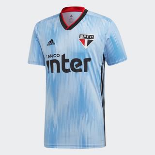 Camisa São Paulo Iii 19/20 S/n° Torcedor adidas Masculina -