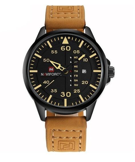 Relógio De Pulso Masculino Original Naviforce 9074