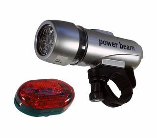 Kit 2x Lanterna Powerbean P/ Ciclismo - Novo