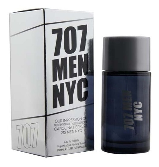 707 Men Nyc Edt 100 Ml - The Preferred Collection