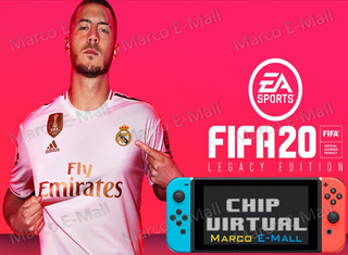 Fifa 2020 Para Nintendo Switch + Chip Virtual