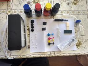 Bulk Luxo Hp 6230 6830 + 900 Ml Tinta + Dreno Frete Grátis