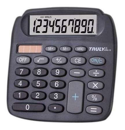 Calculadora 808a10 Truly 1007975 10 Dígitos