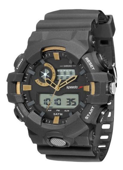 Relógio Speedo Masculino 81156g0evnp1 Analógico-digital
