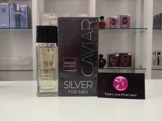 Perfume Silver Caviar Edt 100ml Paris Elysees (body Kouros)