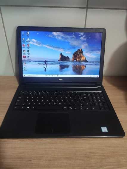 Notebook I5 7200u 7° Dell 4gb Ddr4 Novissimo 1 Tera Hd