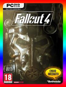 Fallout 4 Pc - Steam Key (envio Já)