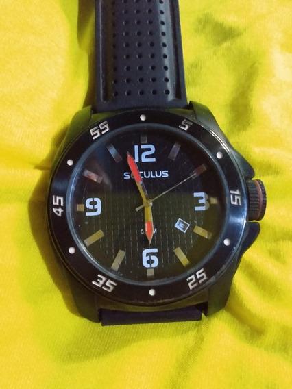 Relógio Seculus Com Calendário
