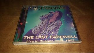 Whitesnake Last Farewell Live Buenos Aires Cd