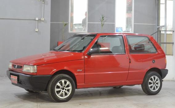 Fiat Uno S 1.3 Con Gnc 2003 3 Puertas Color Rojo