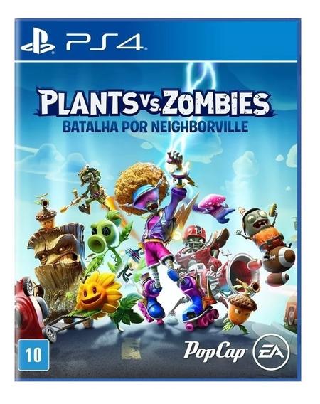Plants Vs. Zombies: Ps4 Digital Batalha Por Neighborville