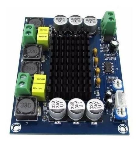 Placa Amplificador Digital 2*120w - Faça Sua Caixa Ativa Diy