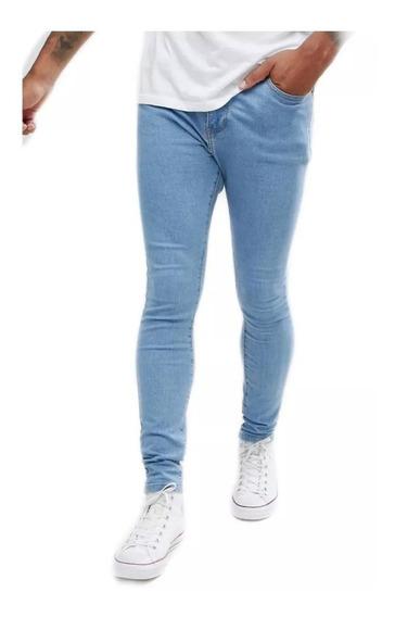 Jean Hombre Elastizado Calidad Calce Perfecto T Los Talles