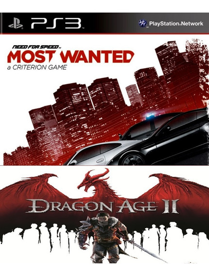 Dragon Age Ii + Need For Speed Most Wanted Ps3