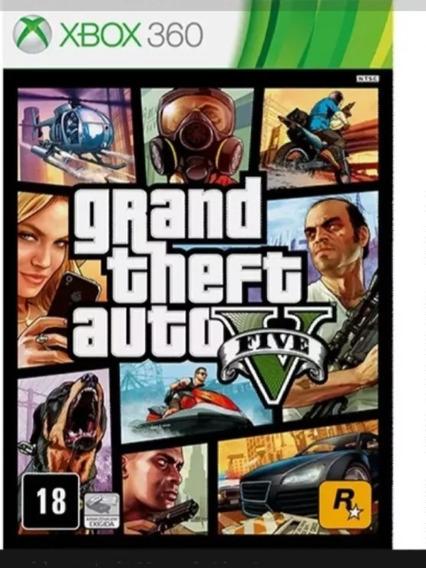 Gta 5 Midia Digital Xbox 360